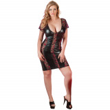 Cottelli Blonde Kjole i Wetlook Plus Size