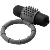 Baseks Silikone Penisring med Vibrator