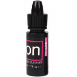 Sensuva On Lite Klitoris Stimulerings Olie 5 ml