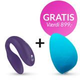 We-Vibe Sync Par Vibrator med Fjernbetjening og App - PRISVINDER