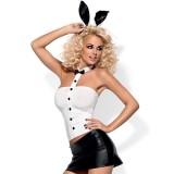 Obsessive Elegant Bunny Suit Kostume