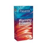 Pasante Warming & Cooling Kondomer 12 stk