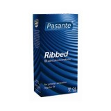 Pasante Ribbed Kondomer 12 stk