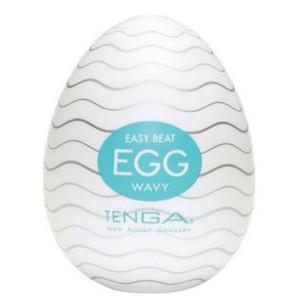 TENGA Egg Wavy Onani Håndjob til Mænd