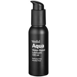 Sinful Aqua Vandbaseret Glidecreme 100 ml