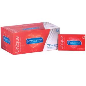 Pasante Unique Latexfri Kondomer 72 stk