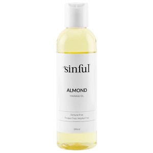 Sinful Mandel Massageolie 200 ml