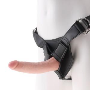 King Cock Harness med Dildo 18 cm