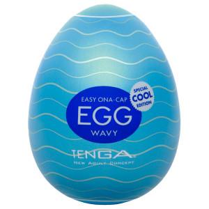 TENGA Egg Wavy Cool Edition Onani Håndjob til Mænd