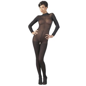 Mandy Mystery Gennemsigtig Catsuit