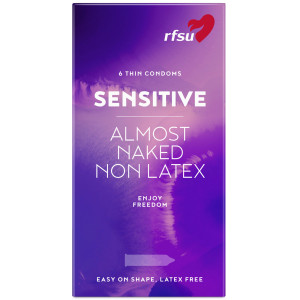 RFSU So Sensitive Latexfri Kondomer 6 stk