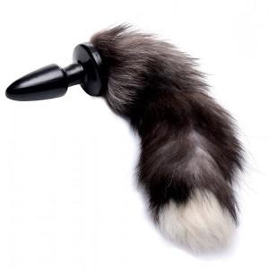Tailz Grey Fox Tail Anal Plug