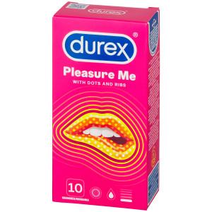 Durex Pleasure Me Kondomer 10 stk