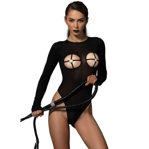 Kink by Leg Avenue Teddy med O-ring Cups