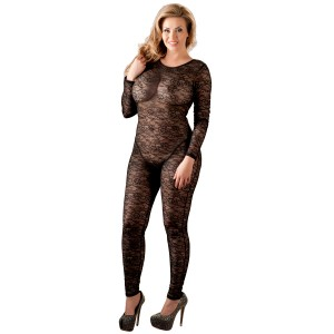 Cottelli Bundløs Blonde Catsuit Plus Size