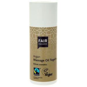 Fair Squared Vegansk Argan Massageolie 150 ml