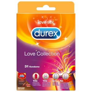 Durex Love Collection Kondomer 31 stk