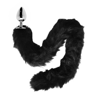 Furry Fantasy Black Panther Tail Butt Plug