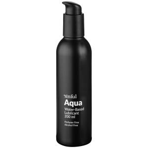 Sinful Aqua Vandbaseret Glidecreme 200 ml