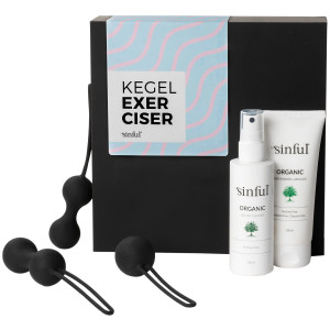 Sinful Kegel Exerciser Boks med A-Z Guide