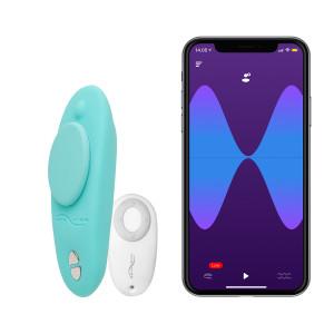 We-Vibe Moxie Trusse Vibrator med Fjernbetjening og App