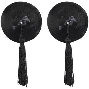 Bijoux Burlesque Pasties Læder Brystsmykker