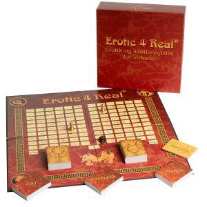 Erotic 4 Real Brætspil på Dansk