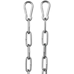 Rimba Metal Kæde Med Karabinhager 100 cm