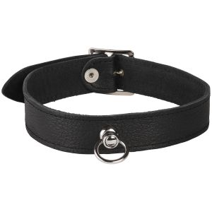 Rimba Læder Halsbånd med O-Ring
