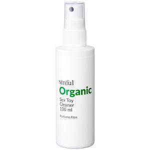 Sinful Økologisk Sexlegetøjs Rengøring 100 ml