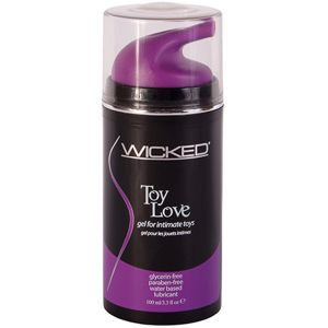 Wicked Toy Love Gel til Sexlegetøj 100 ml