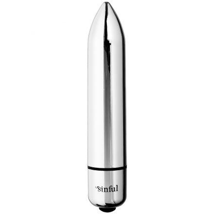 Sinful 10-Speed Magic Silver Bullet Vibrator