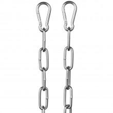 Rimba Metal Kæde med Karabinhager 200 cm billede af emballagen 1