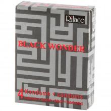 Rilaco Black Wonder Sorte Kondomer 4 stk  1