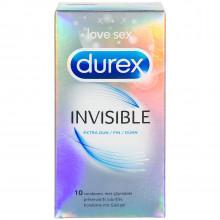 Durex Invisible Ekstra Tynde Kondomer 10 stk  1