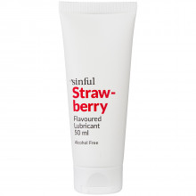 Sinful Glidecreme med Jordbær Smag 50 ml produktbillede 1