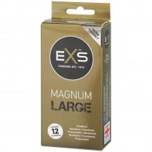 EXS Magnum Large Kondomer 12 stk Emballagebillede 1