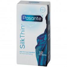 Pasante Silk Thin Kondomer 12 stk billede af emballagen 90