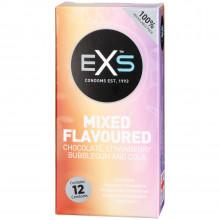 EXS Kondomer med Smag 12 stk  1