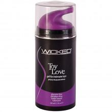 Wicked Toy Love Gel til Sexlegetøj 100 ml  1