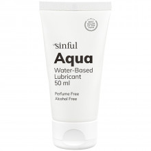 Sinful Aqua Vandbaseret Glidecreme 50 ml  1