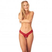 Nortie Malin Bundløs Orgasme Perle G-Streng Limited Edition produkt på model 1