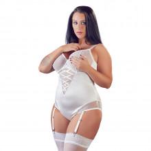 Cottelli Blonde Body Hvid Plus Size Product model 1