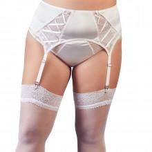 NEW - Cottelli Blonde Hofteholder Hvid Plus Size Product model 1