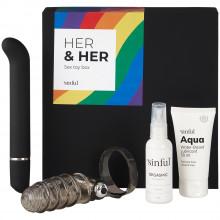 Sinful Love Her & Her Sexlegetøj Boks med A-Z Guide produktbillede 1