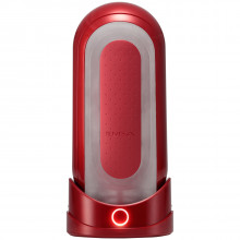 TENGA Flip Zero Red Warmer Sæt  1