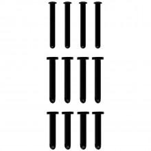 Mancage Sort Låsepinde Sæt 12 stk Produktbillede 1
