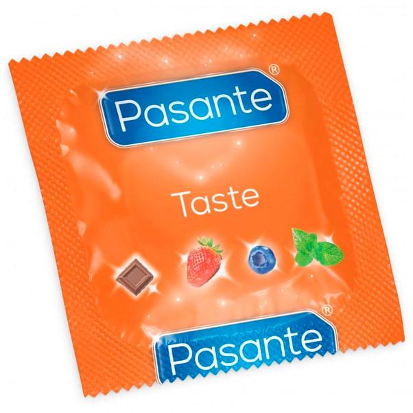 Pasante Taste Mixed Flavours Kondomer 12 stk  2
