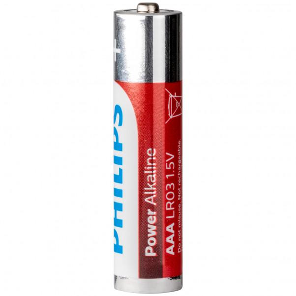 Philips LR03 AAA Alkaline Batterier 4 stk  100