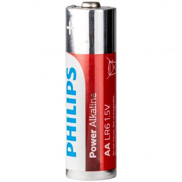 Philips LR06 AA Alkaline Batterier 4 stk  100